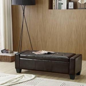 BAN109 - Bancuta, Canapea, fotoliu, sofa, bancheta, banca living, dormitor, hol, lada, ladita depozitare - Alb/Negru/Maro/Gri