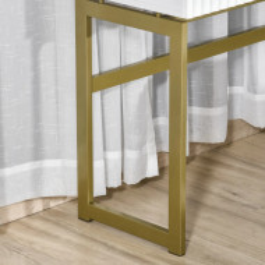 MAA35 - Masuta 100 cm, consola, masuta pentru hol, masuta de toaleta - Alb