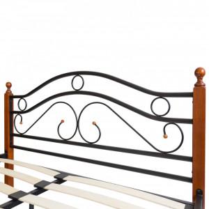 PAM204 - Pat maro - negru dormitor, 140, 160 si 180 x 200 cm