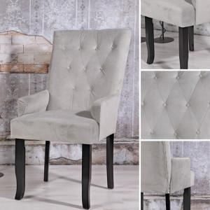 SCN8 - Scaun masuta toaleta machiaj cosmetica, fotoliu, scaunel, divan - tapitat gri