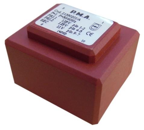 Transformador ac encapsulado 110 220v 12v 40 ma - Transformador 220 a 110 ...