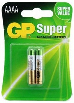 Blister 2 Pilhas Alcalinas LR61 AAAA - GP