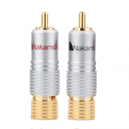 Ficha RCA Macho alta qualidade Nakamichi (Par)