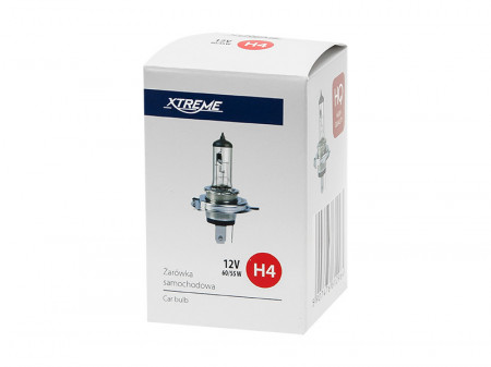 lâmpada H4 Branco 12V 60 / 55W