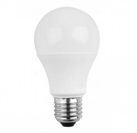Lampada LED E27 A60 220V 10W Branco 4000K 800Lm - Dimável
