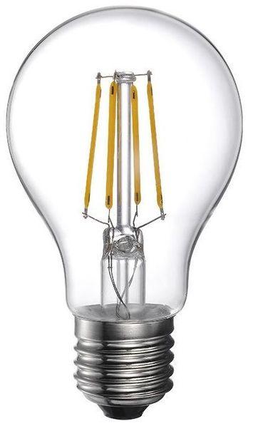 "Lampada LED E27 ""Filamento"" 220V 4W Branco F. 6000K 360Lm"