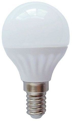 Lampada LED Opalina 220V E14 5W Branco Q. 3000K 400Lm