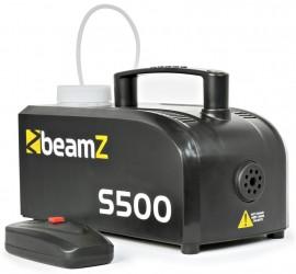 Máquina de fumo BEAMZ S500 500W c/ Controlador + Liquido Incluído 250ml