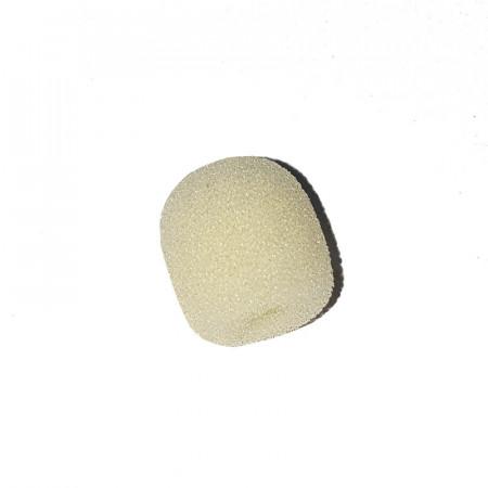 Mini Esponja Microfone Cabeça Cor de Pele Clara - 12 x 10 x 2 mm