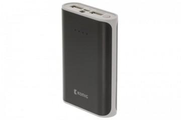 Powerbank Banco Portátil de energia 7500mAh USB - Preto