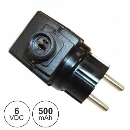 Alimentador Switching DC 6V 0.5A - 3W