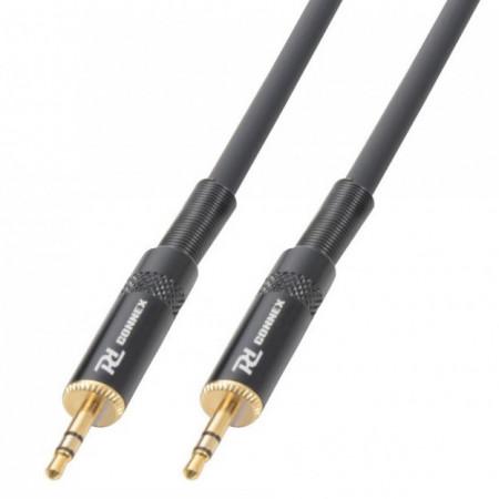 Cabo Jack 3,5mm Macho Stereo - Jack 3,5mm Macho Stereo (1,5 mts) - Power Dynamics Connex