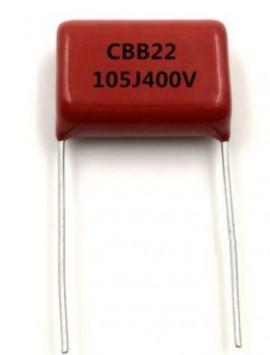 Condensador Polipropileno 1 uF 400V Hi-fi