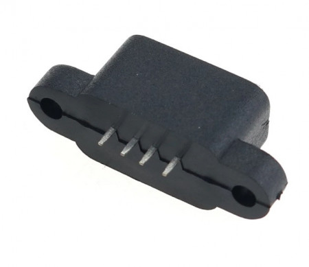 Ficha USB 2.0 Fêmea painel