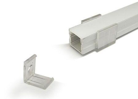 Fixador p/ Perfil de Fita de LEDs