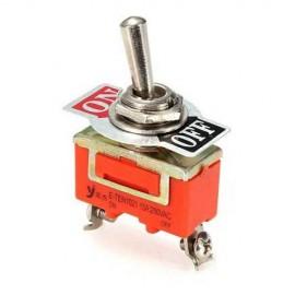 Interruptor ON / OFF 2 Pólos 250V 15A