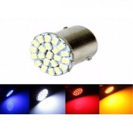 Lâmpada p/ Automóvel LED 12V 10W BAY15D p/ Piscas, Mínimos etc