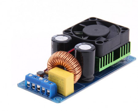 Placa amplificadora Digital Mono de potência MOSFET 500W