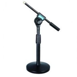 Suporte de Mesa Regulável para Microfone c/ Pinça Incluída