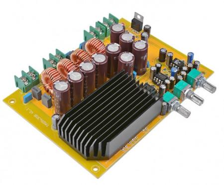 Amplificador 2.1 canais digital 150Wx2 + 300W