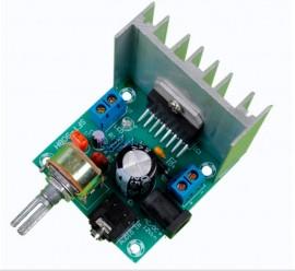 Amplificador de áudio stereo Modulo de 30W + 30W