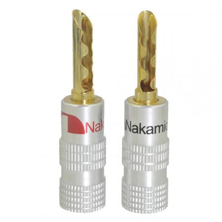 Banana Macho Nakamichi BFA p/ Coluna de alta qualidade (Par)