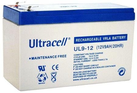 Bateria Chumbo 12V 9Ah (151 x 65 x 93 mm) - Ultracell