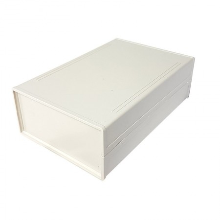 Caixa Cinza em ABS 190 x 120 x 60 mm