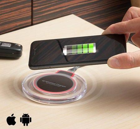 Carregador Wireless de Indução Qi Charger