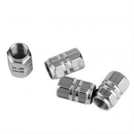 Conjunto tampões para Válvulas de Pneus em Alumínio (4 unidades)