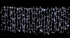 Cortina 48 LEDs (Decoração Natal) Branco