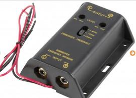 Filtro crossover activo para Subwoofer Corte Ajustável 80 - 125 - 250 Hz