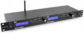 """LEITOR DUPLO MP3/USB/SD/BLUETOOTH C/ GRAVAÇÃO 19"""""""