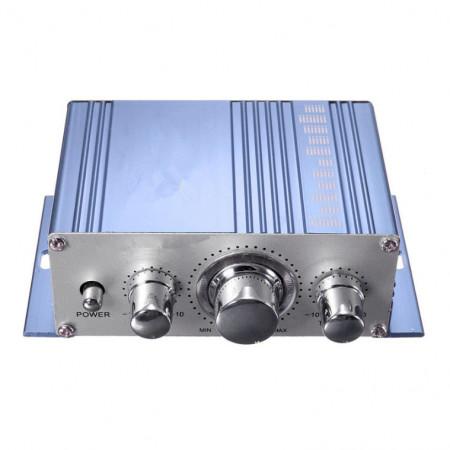 Mini amplificador para carro moto ou casa 2X40W