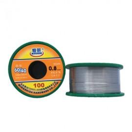 Solda para eletrónica 60/40 100 gr - 0,8mm