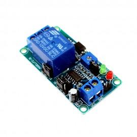 Temporizador inteligente regulável com relé 12V