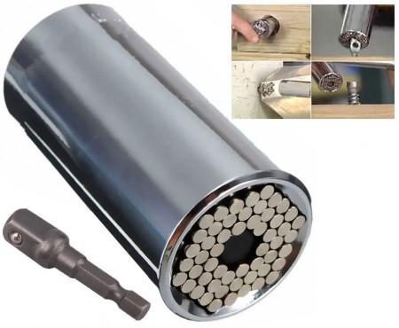Adaptador Universal Multi-Funções 7-19mm p/ Chave de Tubo - ProFTC