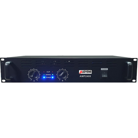Amplificador profissional AUDIENS 2X1400W