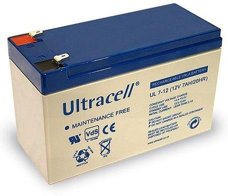 Bateria Chumbo 12V 7Ah (151 x 65 x 95 mm) - Ultracell