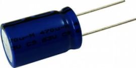 CONDENSADOR ELETROLITICO 470 UF 63V 125 ° C