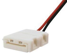 Ficha de Ligação Fácil c/ Fios para Fita de LED 3528 8mm