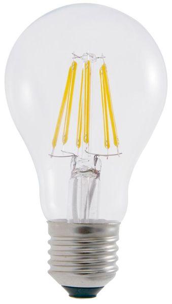 "Lampada LED E27 ""Filamento"" 220V 6W Branco F. 6000K"