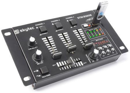 Mesa de Mistura 6 Canais com USB/MP3 (STM-3020B) - Skytec