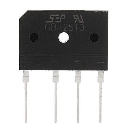 Ponte rectificadora 25 Amperes 1000 Volts