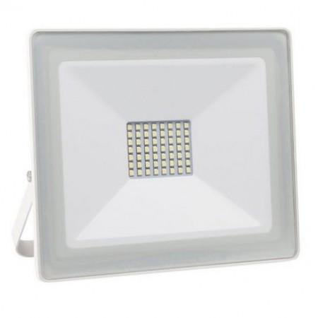 Projector LED Slim IP65 Branco Frio 6000K 50W (Branco)
