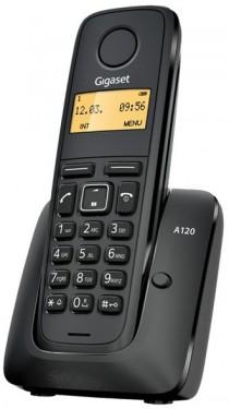 TELEFONE S/ FIOS (REDE FIXA) DIGITAL PRETO - SIEMENS