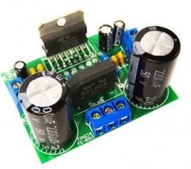 Amplificador TDA7293 Potente HI-FI 200W c/rectificação e filtragem