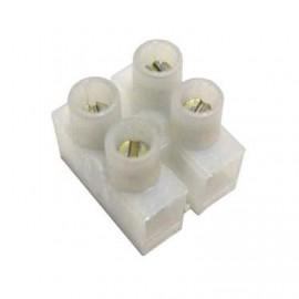 Bloco de terminais 2 Polos para cabos eléctricos 4 milimetros