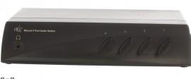 Comutador de áudio 4 portas alta qualidade