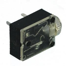 Ficha Jack Fêmea 3,5mm Stereo Painel